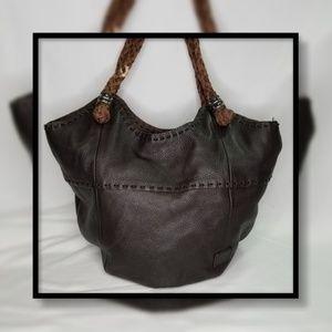 The Sake Leather Bucket Bag